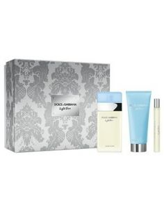 Coffret Light Blue Eau de Toilette 100 ml + Body Cream 100 ml + Edt 10 ml