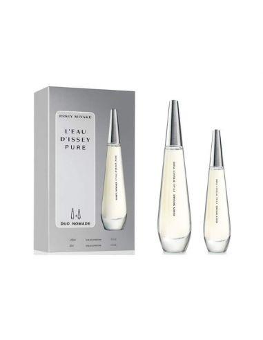 Coffret L'Eau d'Issey Pure Eau de Parfum 90 ml + Eau de Parfum 30 ml