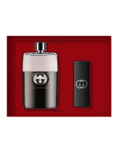 Coffret Gucci Guilty Homme Eau de Toilette 150 ml + Edt 30 ml