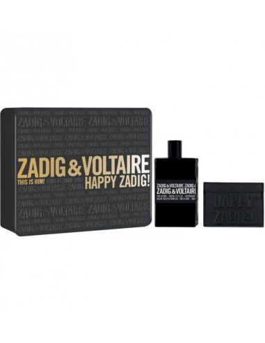 Coffret Zadig & Voltaire This is Him Edt 100ml + Carteira