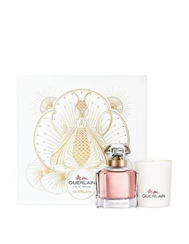 CoffCoffret Mon Guerlain Eau de Parfum 50 ml + Vela