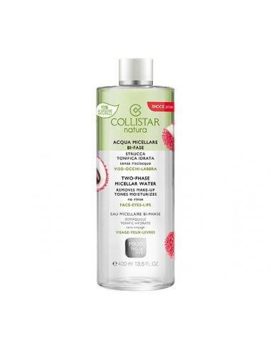 Collistar Natura Micellar Water Two-Phase 400 ml