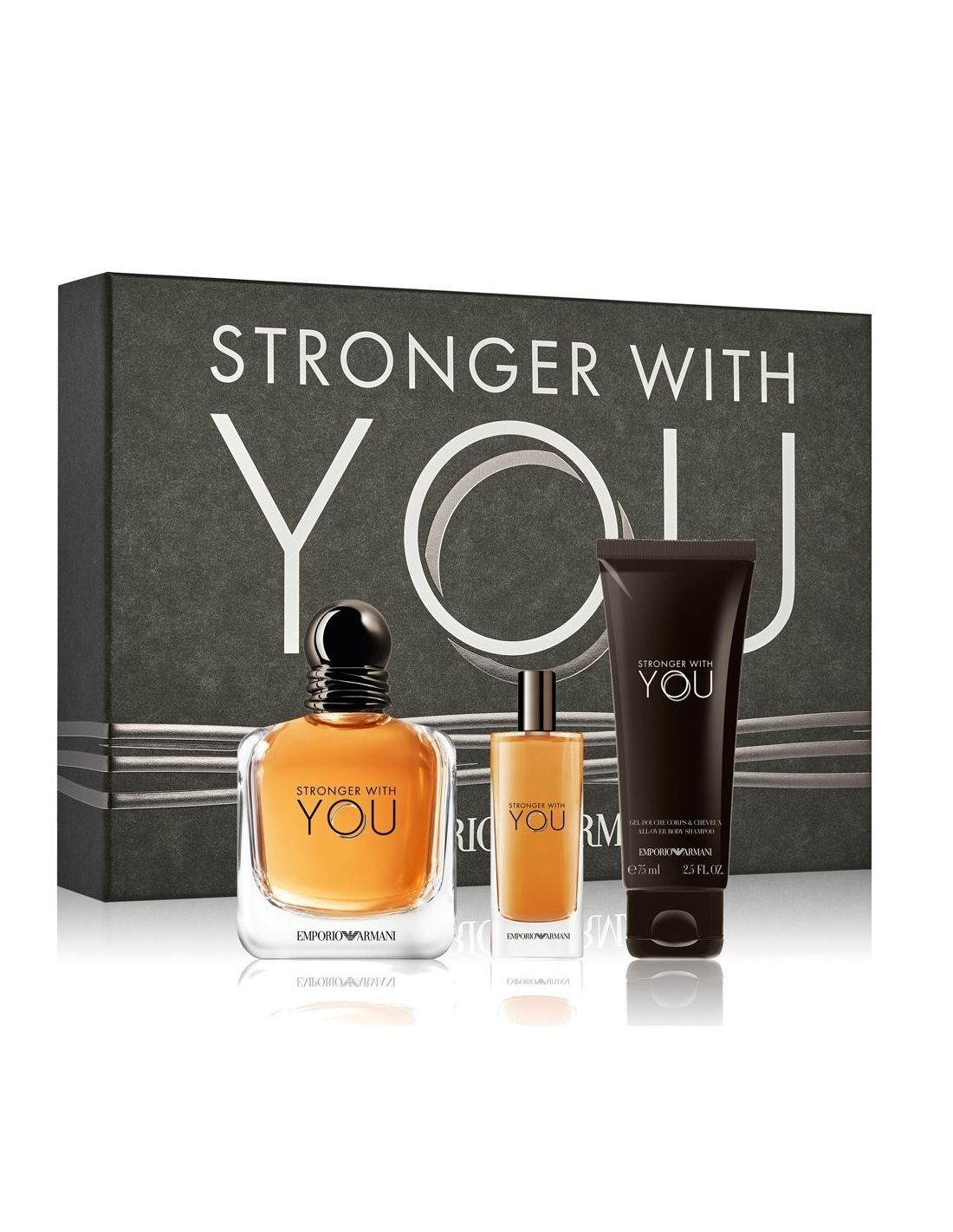 7b5de66926b Coffret Giorgio Armani Stronger With You Eau de Toilette 100 ml + Shower  Gel 75 ml