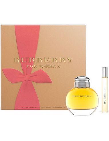 Coffret Burberry Woman Eau de Parfum 100 ml + Edp 7,5 ml