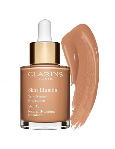 Clarins Skin Illusion Teint Naturel Hydratation Nº112 Amber 30 ml