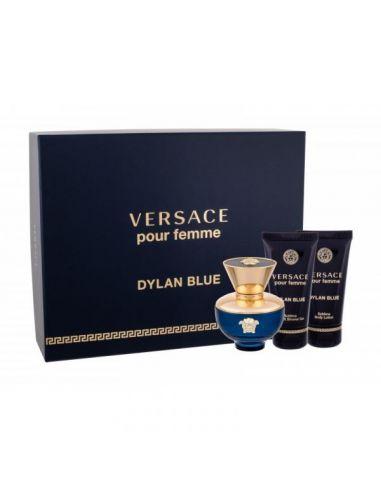 Coffret Versace Dylan Blue Femme Eau...
