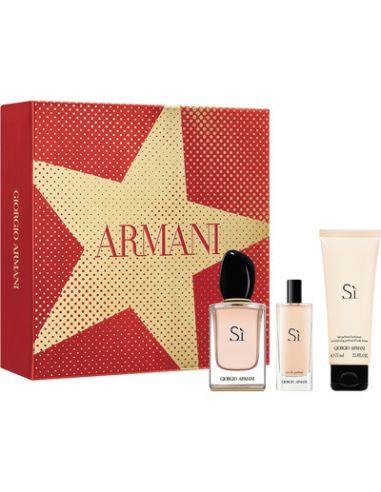 Coffret Sì Eau de Parfum 50 ml + Body...