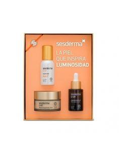 Coffret Sesderma C-Vit Liposomal Serum 30 ml + Cream 50 ml + C-vit Mist Liposomal 30 ml