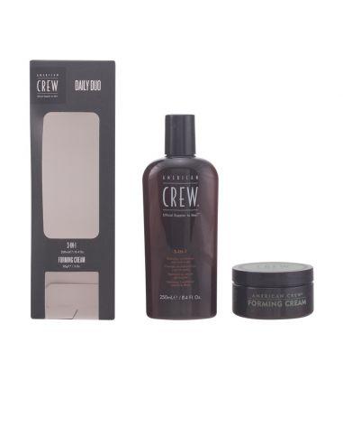 Crew 3 In 1 – Coffret com 2 produtos Shampoo 3 em 1 + creme de fixação 85 gr